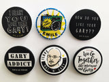 1.Viva La Vegan GARY Badges 38mm (each)