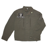 viva la vegan reworked army surplus jacket, sold by ethical fashion brand Viva La Vegan.