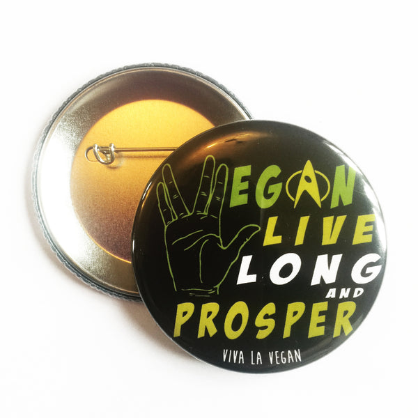 Live long and prosper, sold by ethical fashion brand Viva La Vegan.