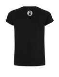 vegan tshirt : Vegan for life not just for likes BLACK back, by eco-ethical brand Viva La Vegan