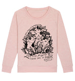 no little piggies went to market  organic sweatshirt by  eco-ethical brand viva la vegan