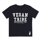 Childrens Vegan Tshirt: Vegan Tribe NAVY