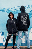 vegans rock hoodie, sold by ethical fashion brand Viva La Vegan.