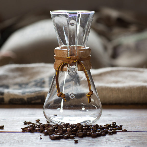 3 Cup Chemex Glass Coffeemaker