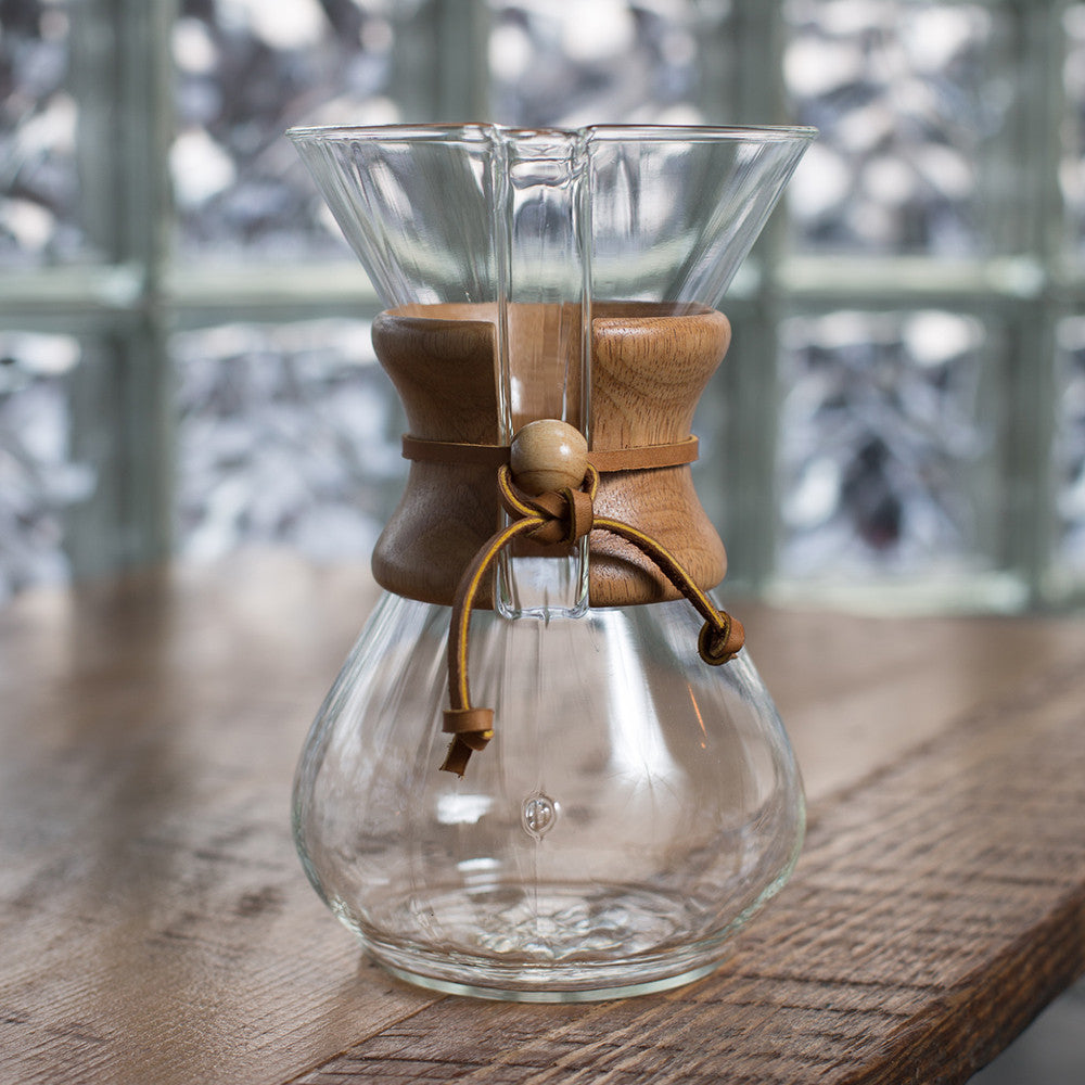 6 Cup Chemex Glass Coffeemaker