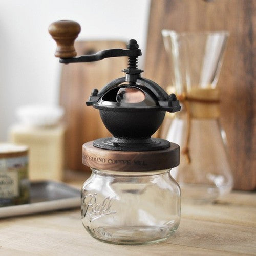 Camano Coffee Mill Handgrinder with Ball Jar