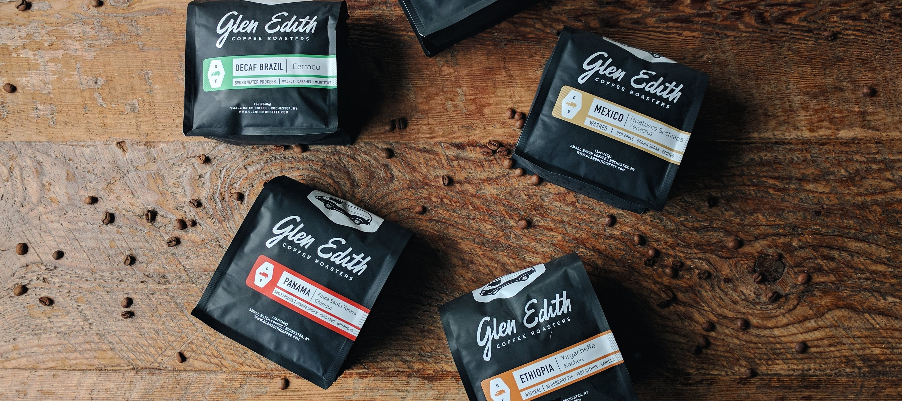 Glen Edith Coffee Roasters - pour over coffee bar in
