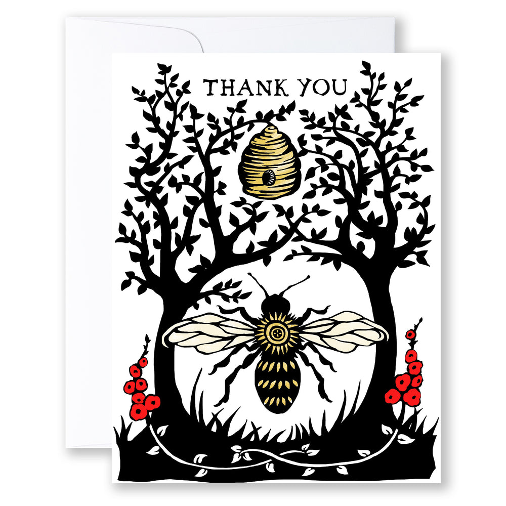 (set of 8)  402 ... Bee Thankful