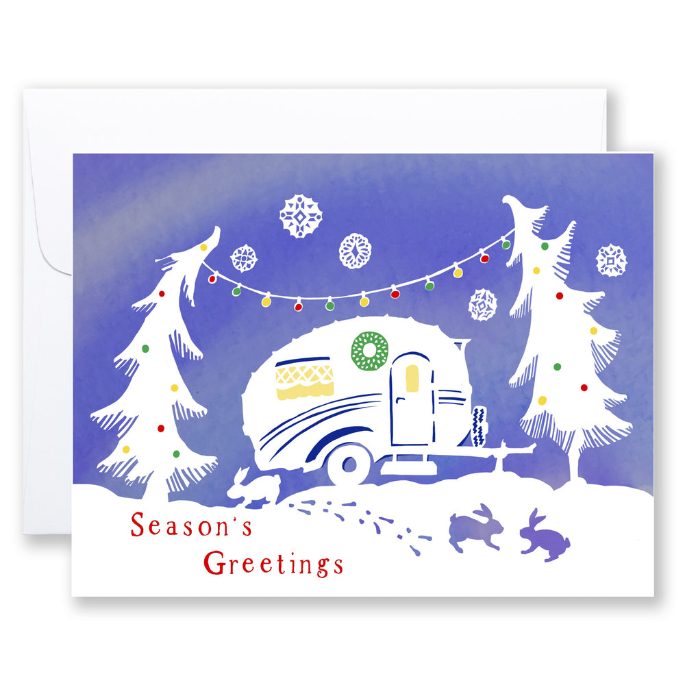 (set of 8) 902 ... Christmas Caravan