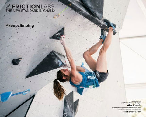 "Alex Puccio Vail World Cup Poster - 20"" x 16"""