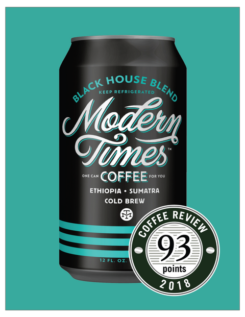 BLACK HOUSE COLD BREW COFFEE (SINGLE 12oz CANS) - TO-GO 2020