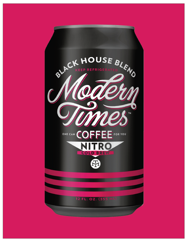 NITRO BLACK HOUSE COLD BREW COFFEE (SINGLE 12oz CAN) : TO-GO [ANAHEIM]