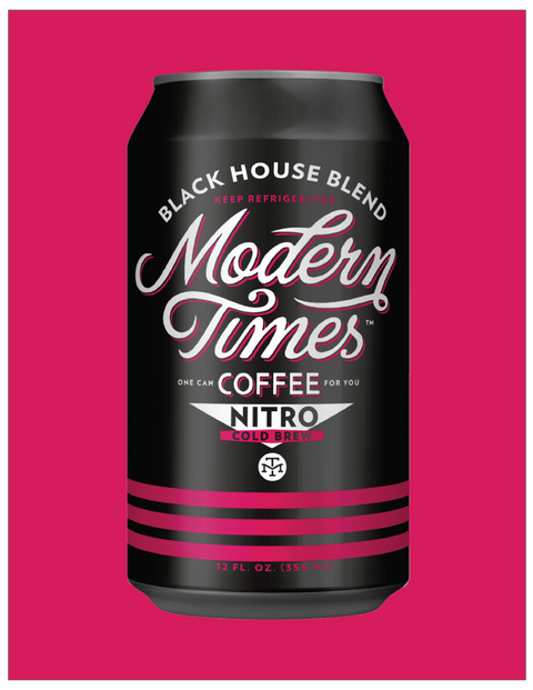NITRO BLACK HOUSE COLD BREW COFFEE (SINGLE 12oz CANS) - TO-GO 2020