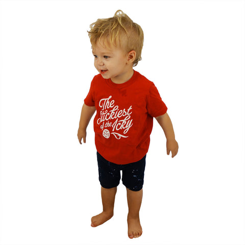 TODDLER BLAZING WORLD SHIRT
