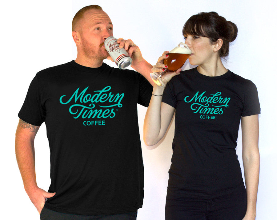 MODERN TIMES COFFEE SHIRT