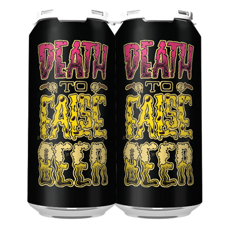 DEATH TO FALSE BEER DIPA (4-PACK OF 16oz CANS) - TO-GO 2020