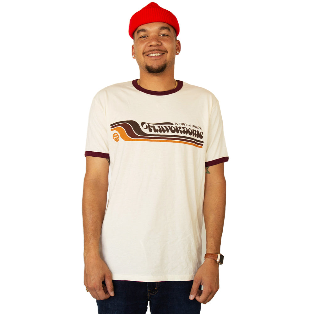 FLAVORDOME RINGER TEE