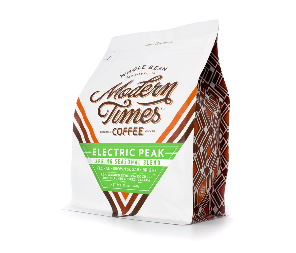 ELECTRIC PEAK BLEND (12oz BAG) : TO-GO [POINT LOMA]