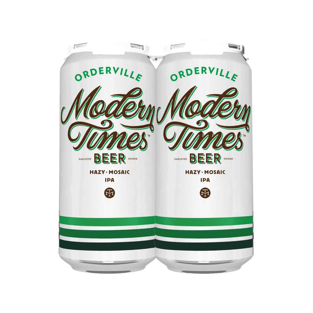 ORDERVILLE CASE (6 x 4-PACKS OF 16oz CANS) *SHIPPING IN CA ONLY