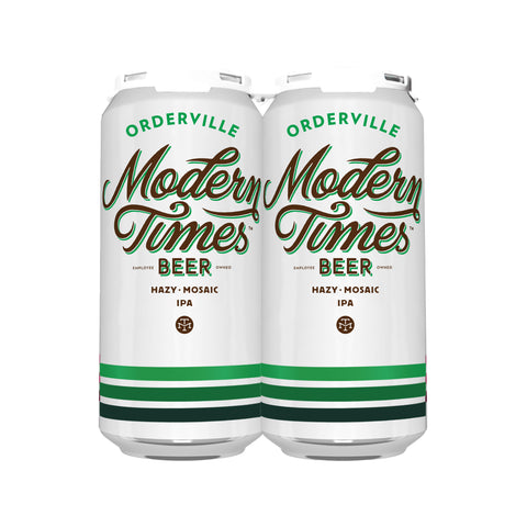 ORDERVILLE CASE (6 x 4-PACKS OF 16oz CANS) *SHIPPING IN DC ONLY