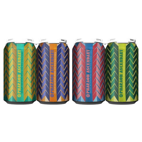 PHARAOH ASCENDENT (MIXED 4-PACK OF 12oz CANS) *SHIPPING IN OR ONLY