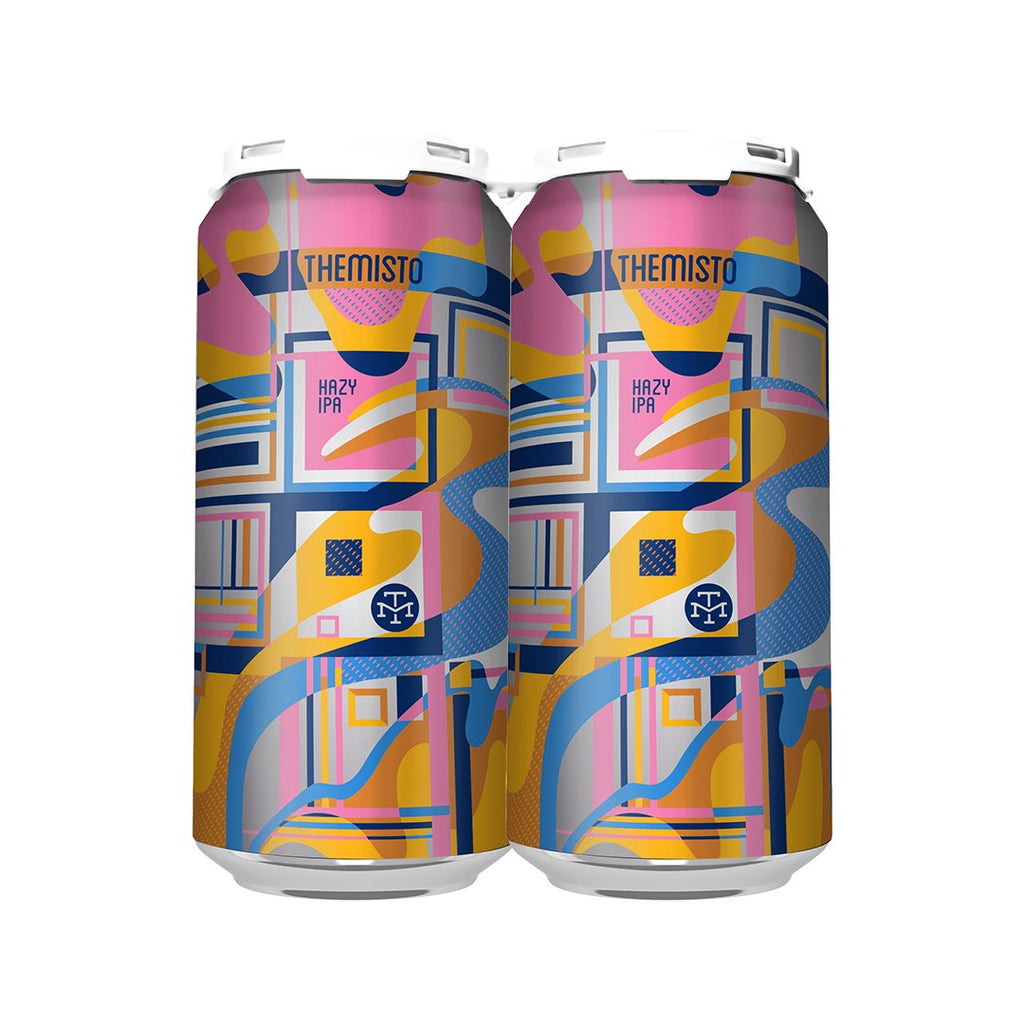 THEMISTO HAZY IPA  (4-PACK OF 16oz CANS) : TO-GO [PORTLAND]