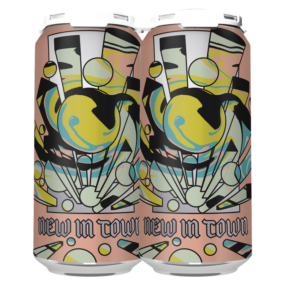 NEW IN TOWN DIPA (COLLAB W/ UNSUNG) (1 x 4-PACKS OF 16oz CANS) *SHIPPING IN CA ONLY