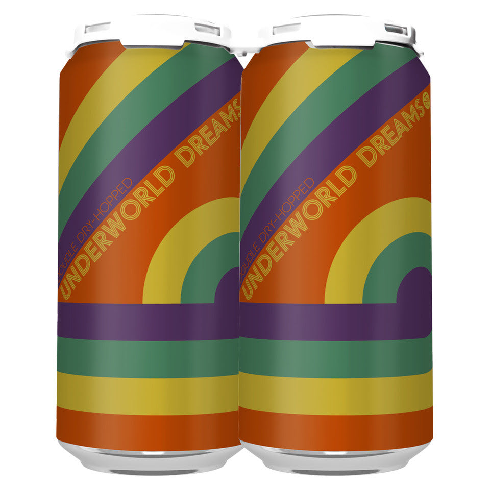 DOUBLE DRY-HOPPED UNDERWORLD DREAMS IPA (1 x 4-PACKS OF 16oz CANS) *SHIPPING IN OR ONLY