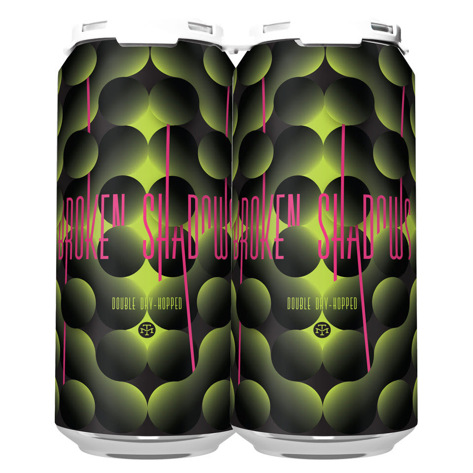 DOUBLE DRY-HOPPED BROKEN SHADOWS IPA (1 x 4-PACKS OF 16oz CANS) *SHIPPING IN OR ONLY