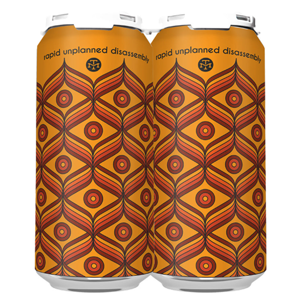 RAPID UNPLANNED DISASSEMBLY DIPA (1 x 4-PACKS OF 16oz CANS) *SHIPPING IN CA ONLY