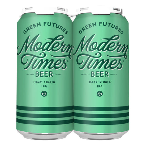 GREEN FUTURES IPA (1 x 4-PACKS OF 16oz CANS) *SHIPPING IN OR ONLY