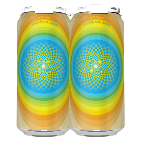 MOSAIC TIMEWAVE ZERO DIPA (1 x 4-PACKS OF 16oz CANS) *SHIPPING IN CA ONLY