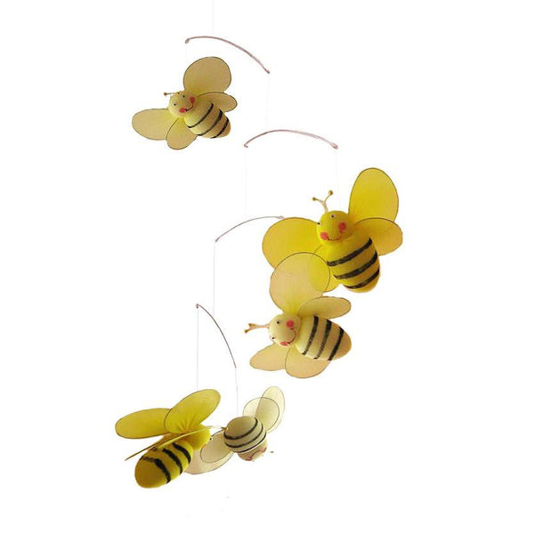 bumble bee nursery mobile
