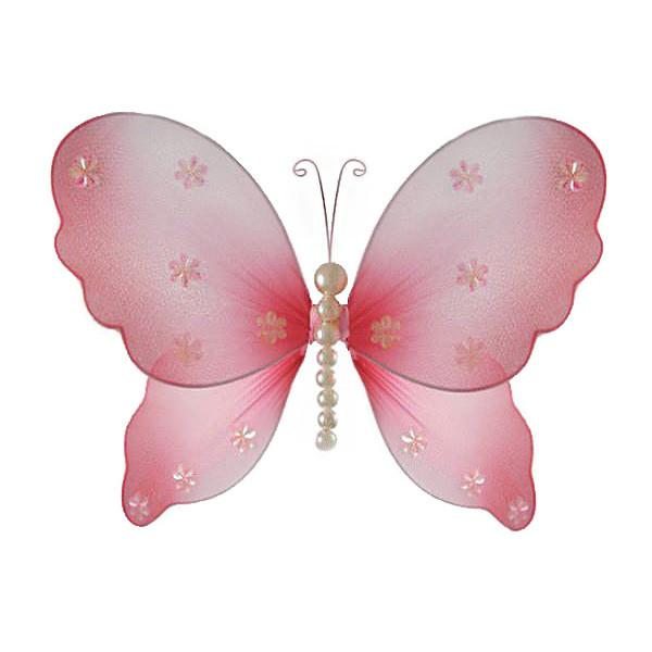 Pink Butterfly Home Decor