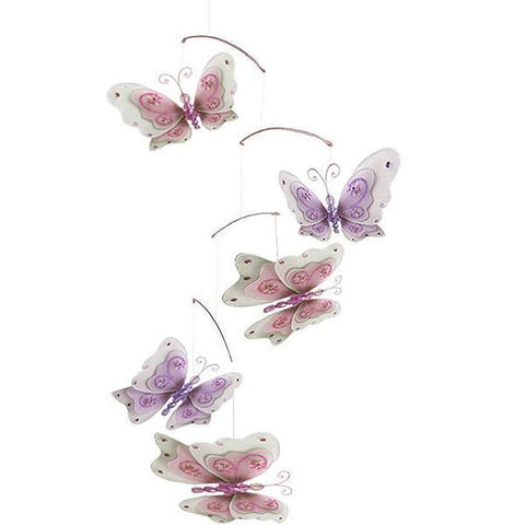 butterfly nursery mobile