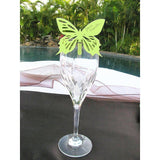 Green Butterfly Place Card