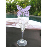 Lavender Butterfly Place Card