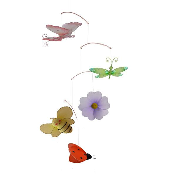 Butterfly Garde Theme Nursery Mobile