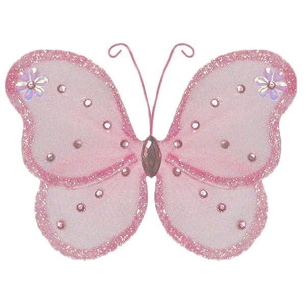 Pink Butterfly Wedding Decorations