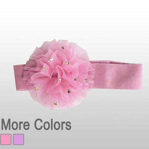 carnation flower headband