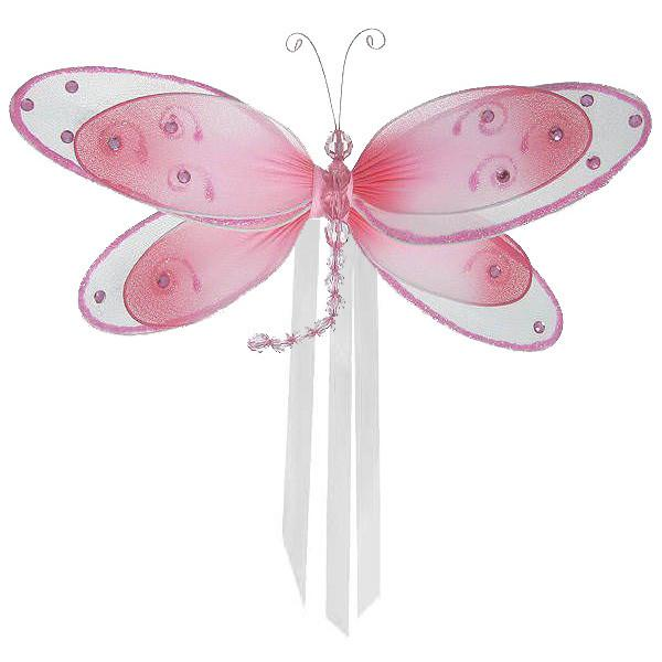 Pink Avery Dragonfly Curtain Tieback