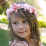 Pink Fairy Head Wreath