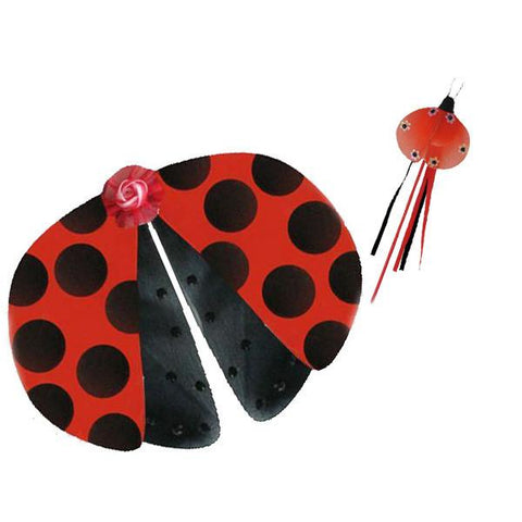 Ladybug Fairy Wing and Wand