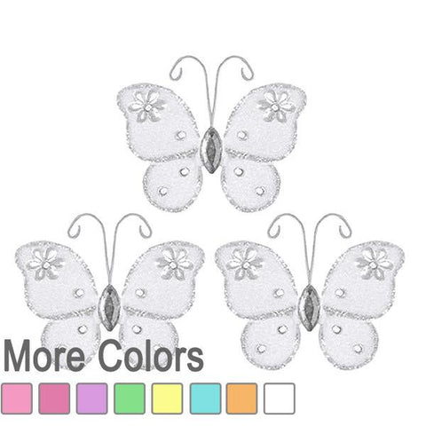 mini wedding butterfly decorations
