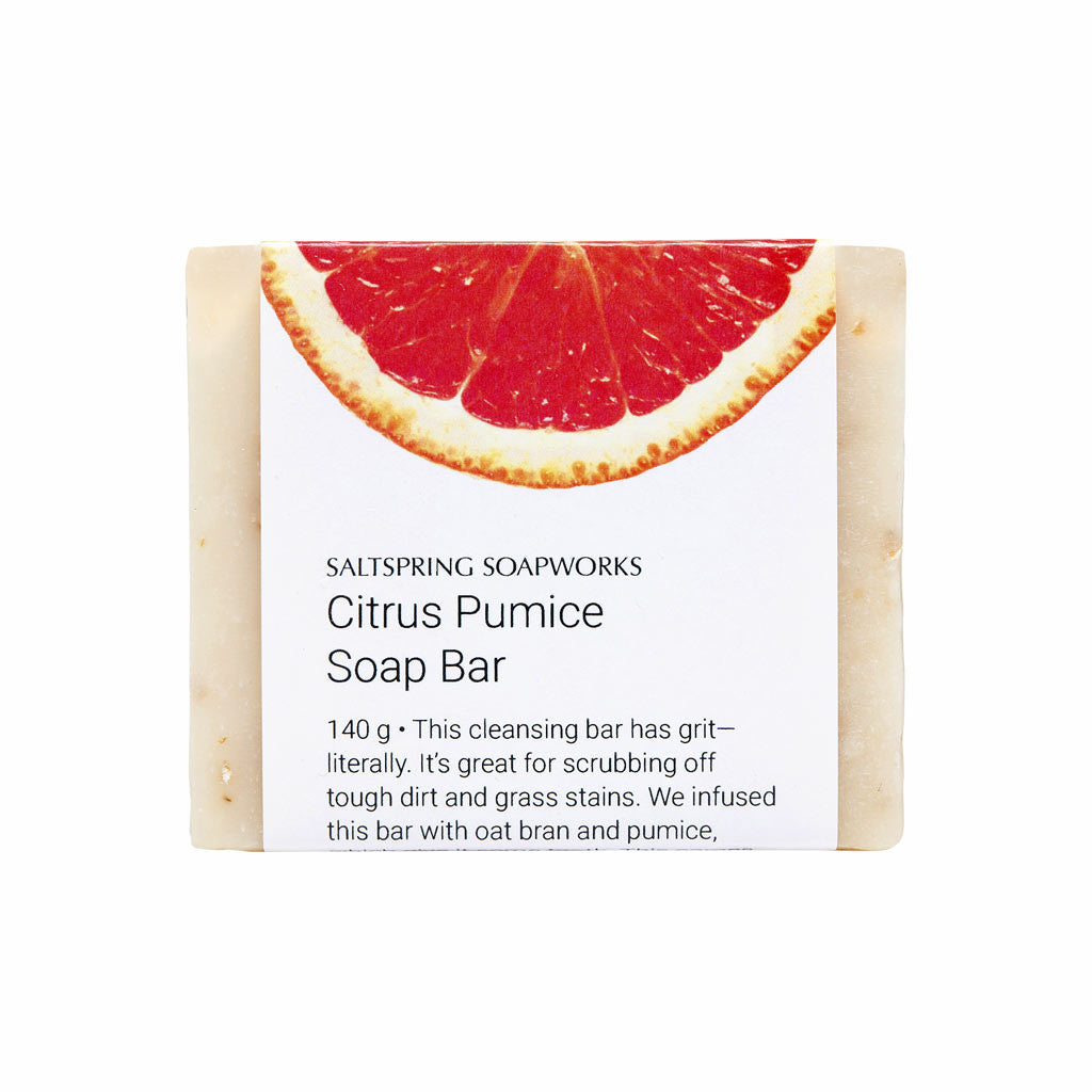Citrus Pumice Soap Bar