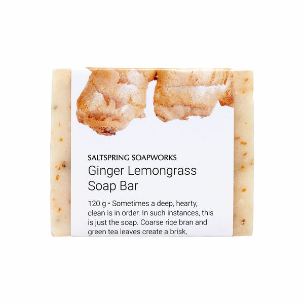 Ginger Lemongrass Soap Bar