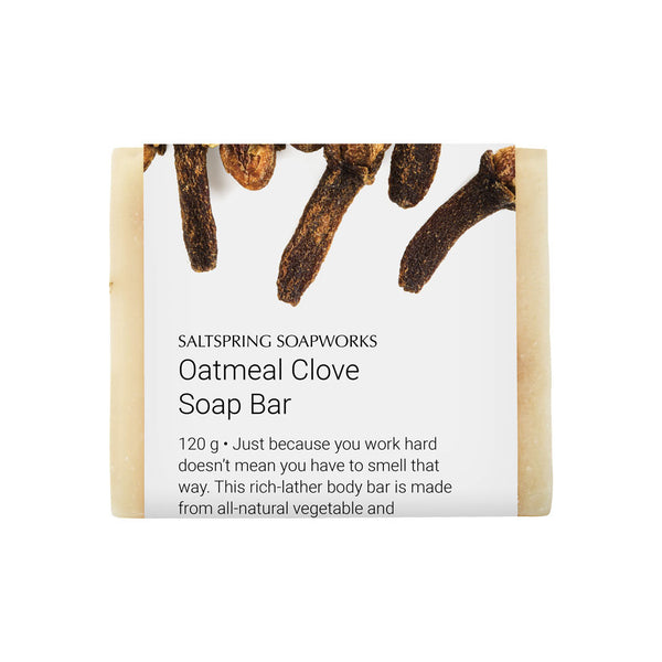 Oatmeal Clove Soap Bar