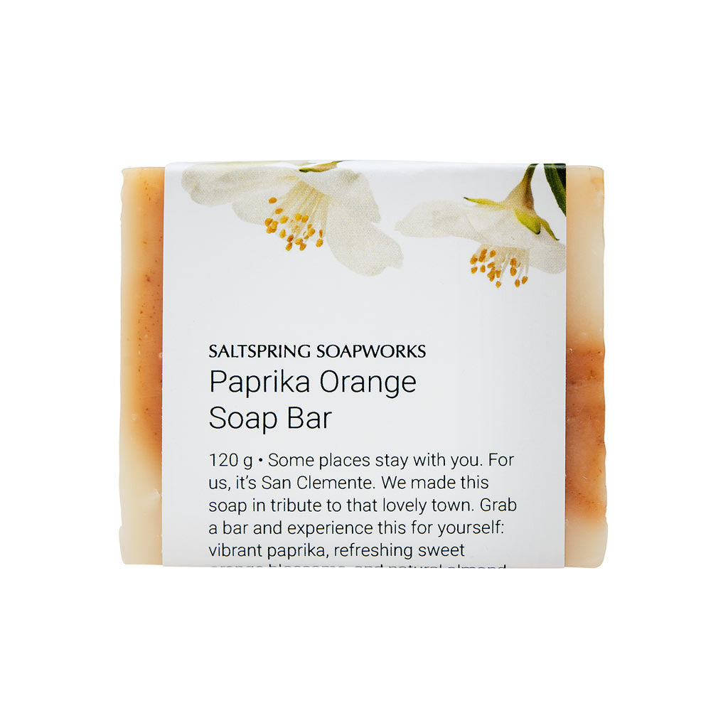 Paprika Orange Soap Bar