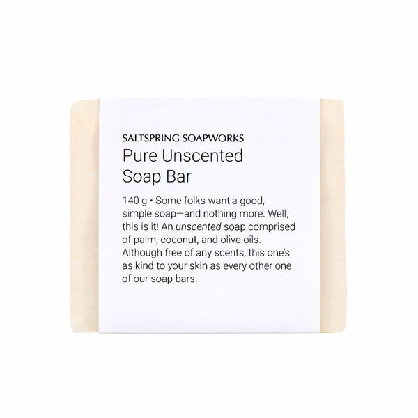 Pure Unscented Soap Bar