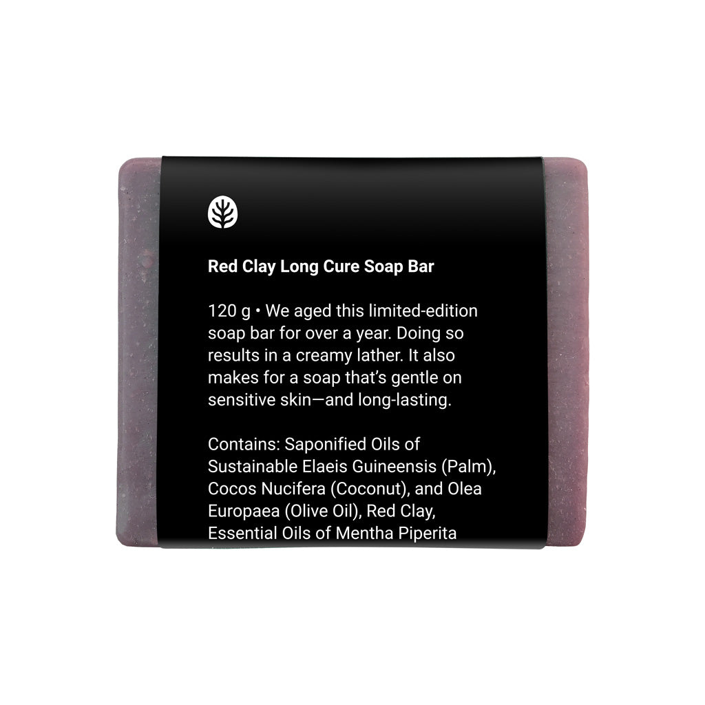 Red Clay Long Cure Soap Bar